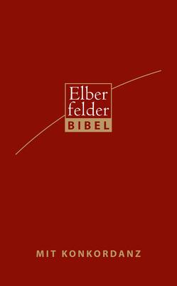 Elberfelder Bibel – Standardausgabe, Kunstleder, rot mit Handkonkordanz