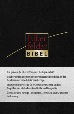 Elberfelder Bibel – Taschenausgabe, ital. Kunstleder schwarz
