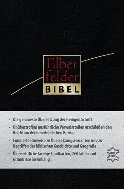 Elberfelder Bibel – Taschenausgabe, Leder Goldschnitt mit Reißverschluss