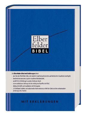 Elberfelder Erklärungsbibel (Leder)