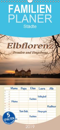 Elbflorenz – Dresden und Umgebung – Familienplaner hoch (Wandkalender 2019 <strong>21 cm x 45 cm</strong> hoch) von Zinoviev,  Sergej