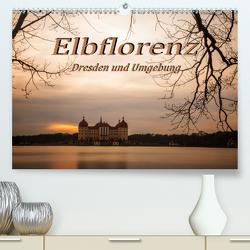 Elbflorenz – Dresden und Umgebung (Premium, hochwertiger DIN A2 Wandkalender 2021, Kunstdruck in Hochglanz) von Zinoviev,  Sergej
