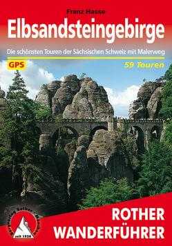 Elbsandsteingebirge (E-Book) von Hasse,  Franz