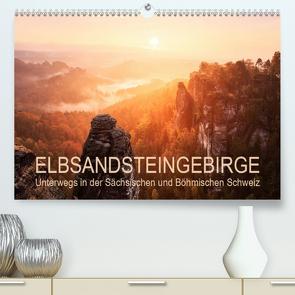 Elbsandsteingebirge: Unterwegs in der Sächsischen und Böhmischen Schweiz (Premium, hochwertiger DIN A2 Wandkalender 2020, Kunstdruck in Hochglanz) von Aust,  Gerhard