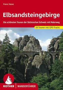 Elbsandsteingebirge von Hasse,  Franz