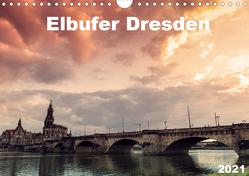 Elbufer Dresden 2021 (Wandkalender 2021 DIN A4 quer) von May,  Stephan