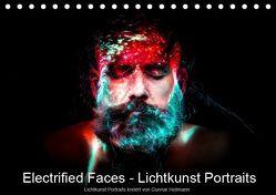 Electrified Faces – Lichtkunst Portraits (Tischkalender 2019 DIN A5 quer) von Heilmann,  Gunnar