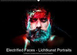 Electrified Faces – Lichtkunst Portraits (Wandkalender 2019 DIN A2 quer) von Heilmann,  Gunnar