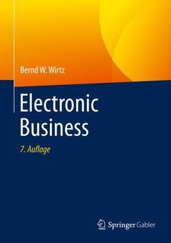 Electronic Business von Wirtz,  Bernd W.