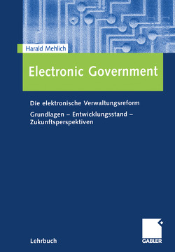 Electronic Government von Mehlich,  Harald