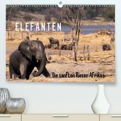 Elefanten – Die sanften Riesen Afrikas (Premium, hochwertiger DIN A2 Wandkalender 2020, Kunstdruck in Hochglanz) von Pavlowsky Photography,  Markus