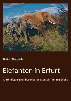 Elefanten in Erfurt von Neuschulz,  Norbert