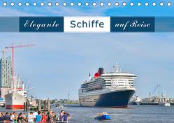 Elegante Schiffe (Tischkalender 2020 DIN A5 quer) von Kulartz,  Rainer, Plett,  Lisa