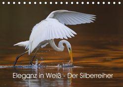 Eleganz in Weiß – Der Silberreiher (Tischkalender 2019 DIN A5 quer) von Martin,  Wilfried
