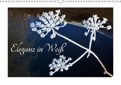 Eleganz in Weiß (Wandkalender 2018 DIN A3 quer) von Kramer,  Christa
