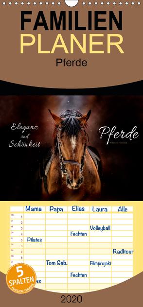 Eleganz und Schönheit – Pferde – Familienplaner hoch (Wandkalender 2020 , 21 cm x 45 cm, hoch) von Roder,  Peter