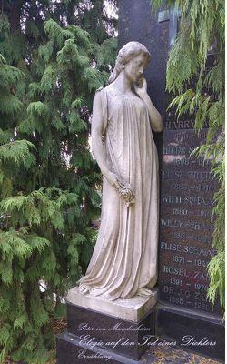 Elegie auf den Tod eines Dichters von Mundenheim,  Peter von