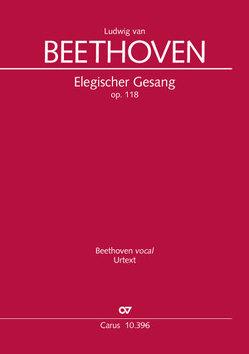 Elegischer Gesang (Klavierauszug) von Beethoven,  Ludwig van, Wolf,  Uwe