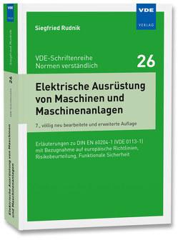 Elektrische Ausrüstung von Maschinen und Maschinenanlagen von Rudnik,  Siegfried