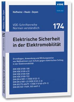 Elektrische Sicherheit in der Elektromobilität von Haub,  Dennis, Hofheinz,  Wolfgang, Zeyen,  Michael