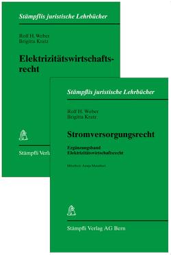 Elektrizitätswirtschaftsrecht/ Stromversorgungsrecht, 2 Bände von Kratz,  Brigitta, Weber,  Rolf H.