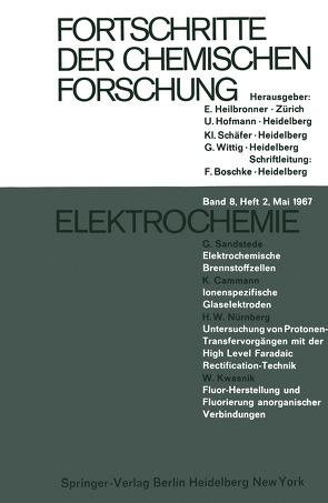 Elektrochemie von Cammann,  K., Kwasnik,  W., Nürnberg,  H.W., Sandstede,  G.