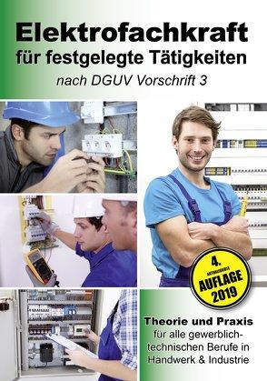 Elektrofachkraft für festgelegte Tätigkeiten nach DGUV Vorschrift 3 von EPV-Autorenteam