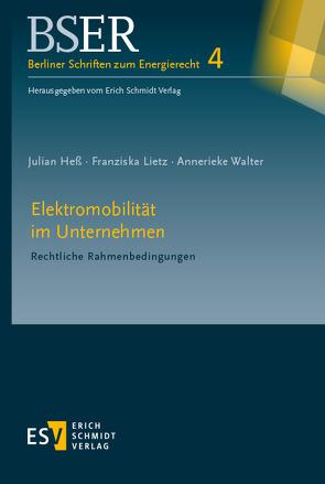 Elektromobilität im Unternehmen von Heß,  Julian, Lietz,  Franziska, Walter,  Annerieke