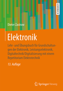 Elektronik von Zastrow,  Dieter