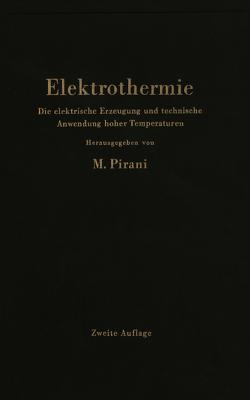 Elektrothermie von Pirani,  Marcello