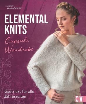 Elemental knits von Krämer-Uhl,  Sabine, Spainhower,  Courtney