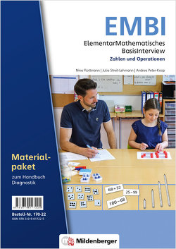 ElementarMathematisches BasisInterview (EMBI) · Zahlen und Operationen · Materialpaket – Neubearbeitung von Flottmann,  Nina, Peter-Koop,  Andrea, Streit-Lehmann,  Julia