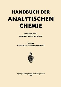 Elemente der Fünften Nebengruppe von van Kolmeschate,  G. J.