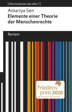 Elemente einer Theorie der Menschenrechte von Kruse-Ebeling,  Ute, Neuhäuser,  Christian, Sen,  Amartya