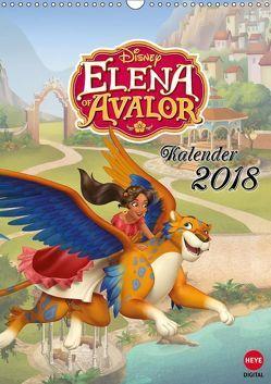 Elena von Avalor (Wandkalender 2018 DIN A3 hoch) von Disney,  k.A.