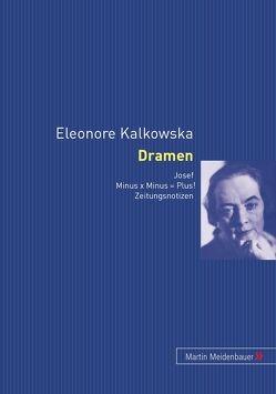 Eleonore Kalkowska. Dramen von Trapp,  Agnes