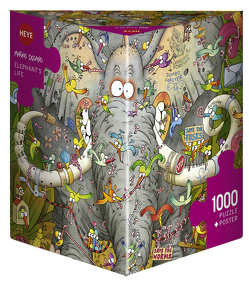 Elephant's Life Puzzle von Degano,  Marino