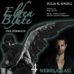 Elfenblüte / Nebelgrau von Knoll,  Julia Kathrin