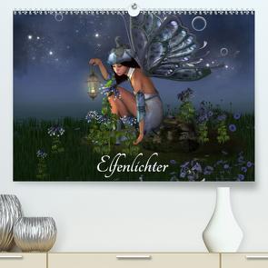 Elfenlichter (Premium, hochwertiger DIN A2 Wandkalender 2021, Kunstdruck in Hochglanz) von Tiettje,  Andrea
