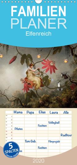 Elfenreich – Familienplaner hoch (Wandkalender 2020 , 21 cm x 45 cm, hoch) von Pfeifer,  Yvonne