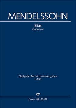 Elias (Klavierauszug deutsch) von Mendelssohn Bartholdy,  Felix