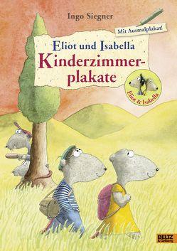Eliot und Isabella-Kinderzimmerplakate von Siegner,  Ingo