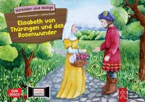 Elisabeth von Thüringen und das Rosenwunder. Kamishibai Bildkartenset. von Buneß,  Juliane, Fastenmeier,  Catharina