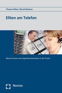 Eliten am Telefon von Martens,  Bernd, Ritter,  Thomas