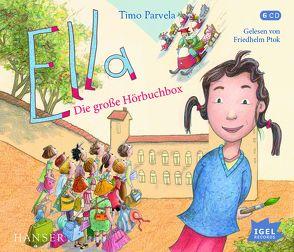 Ella. Die große Hörbuchbox von Parvela,  Timo, Ptok,  Friedhelm
