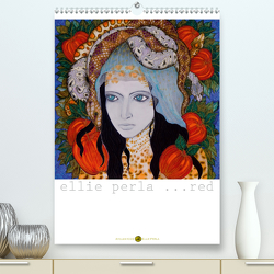 ELLIE PERLA … RED (Premium, hochwertiger DIN A2 Wandkalender 2020, Kunstdruck in Hochglanz) von N.,  N.