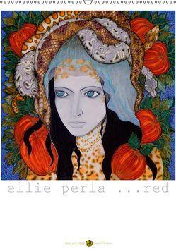 ELLIE PERLA … RED (Wandkalender 2019 DIN A2 hoch) von N.,  N.