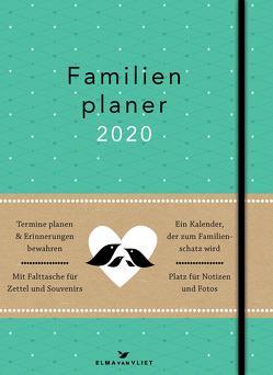 Elma van Vliet Familienplaner 2020 von Heinemann,  Ilka, Kuhlemann,  Matthias, van Vliet,  Elma