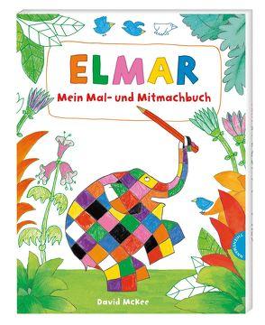 Elmar: Mein Mal- und Mitmachbuch von McKee,  David