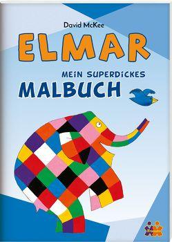 Elmar. Mein superdickes Malbuch von McKee,  David